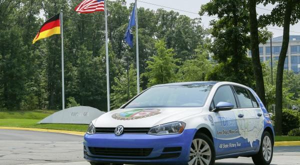 golf tdi clean diesel durchquert 48 us staaten mit. Black Bedroom Furniture Sets. Home Design Ideas