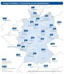 Autogas-Tankstellen - Deutschlandkarte