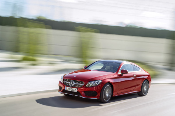 2015 Mercedes-Benz C-Klasse Coupe