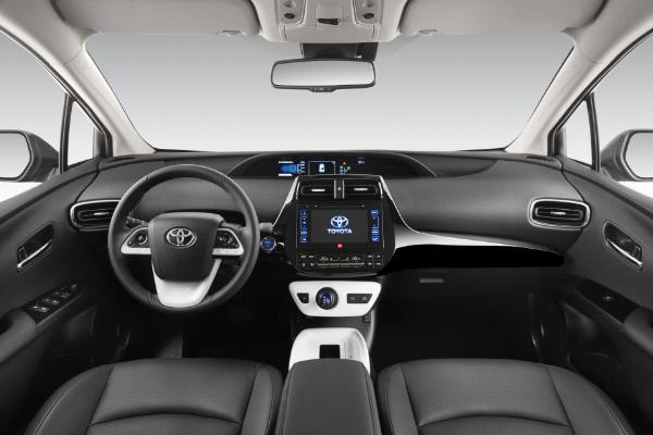 2016er Toyota Prius - Innenraum