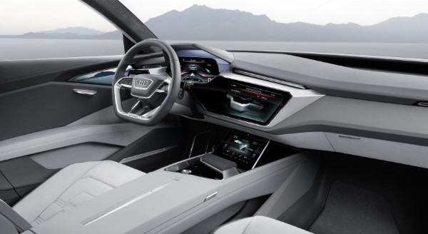 Audi e-tron quattro concept - Innenraum