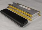 Festkörperbatterien gegenüber einem Notebook-Akku