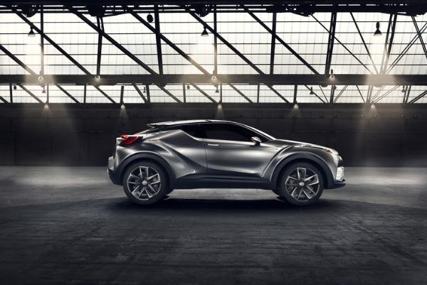 Toyota C-HR Concept - Crossover mit Hybridantrieb