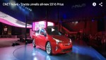Video: Weltpremiere des 2016 Toyota Prius in Las Vegas