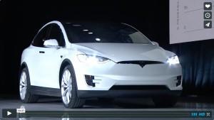 Offizieller Launch des Tesla Model X