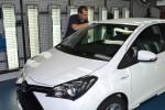 Der 200.000ste Toyota Yaris Hybrid