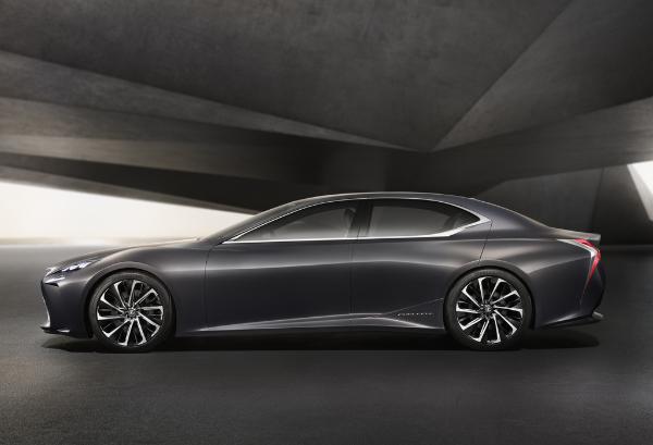 Lexus LF-FC Concept-Car - Coupe-Limousine