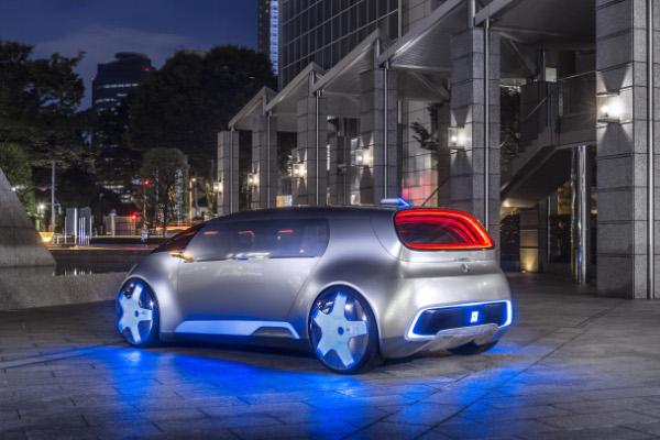 Mercedes-Benz Vision Tokyo mit Brennstoffzellenantrieb