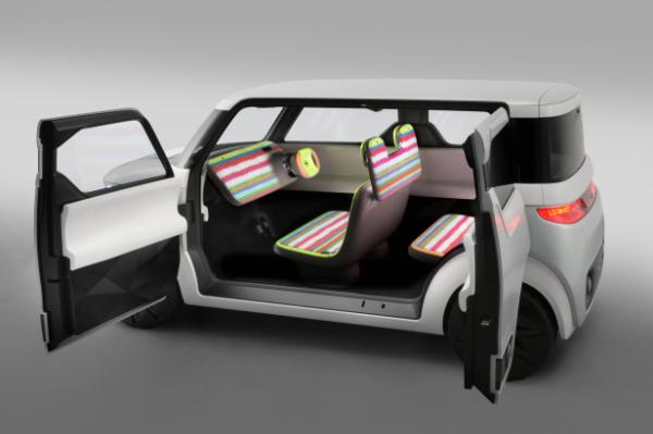 Nissan Teatro for Dayz - Innenraum