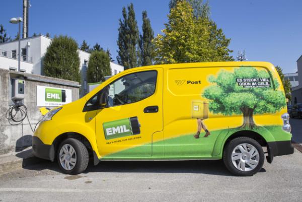 Post-Elektroauto für das EMIL-Carsharing