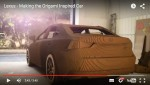 Video: Lexus IS Modell aus Karton