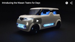 Der Nissan Teatro for Dayz im Video