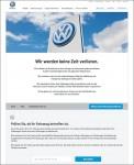 Volkswagen Infoseite zum EA 189 Dieselmotor