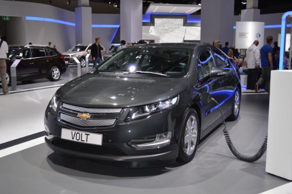Elektroauto Chevrolet Volt auf der IAA