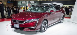 Brennstoffzellen-Serienmodell Honda Clarity Fuel Cell in Tokio vorgestellt
