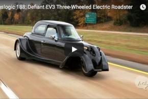 Defiant EV3: Das Drei-Rad-Elektroauto im Test auf der Strasse