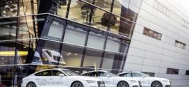 A7 Sportback h-tron quattro im Audi Forum Neckarsulm ausgestellt