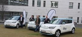 Ordnungsamt in Frankfurt übernimmt drei Kia Soul EV