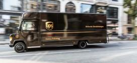 Neue Elektro-Transporter für die UPS Elektroflotte in Deutschland