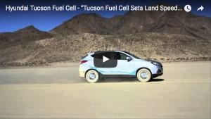 Hyundai Tucson Fuel Cell stellt Geschwindigkeitsrekord auf