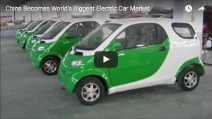 1/3 der weltweiten Neuzulassungen: China ist der größte Markt für Elektroautos