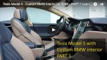 Video: Tesla Model S mit BMW Interior