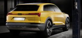 Audi h-tron quattro concept feiert Weltpremiere auf der NAIAS 2016