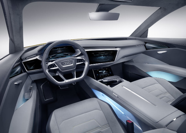 Audi h-tron quattro concept - Innenraum