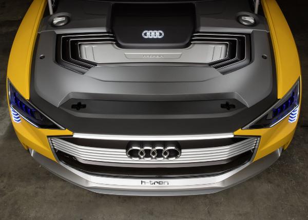 Audi h-tron quattro concept - Motorraum