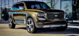 Kia Telluride: Großes Premium-SUV mit Plug-In Hybridantrieb