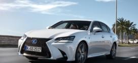 Lexus GS 2016: Markantere Optik und noch sparsamere Hybridantriebe