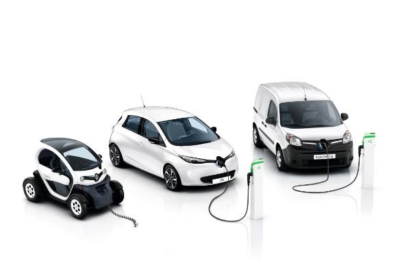 Renault Elektrofahrzeuge - Zoe, Twizy und Kangoo ZE
