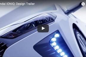 Hyundai IONIQ: Trailer zum Design des neuen Hybridautos