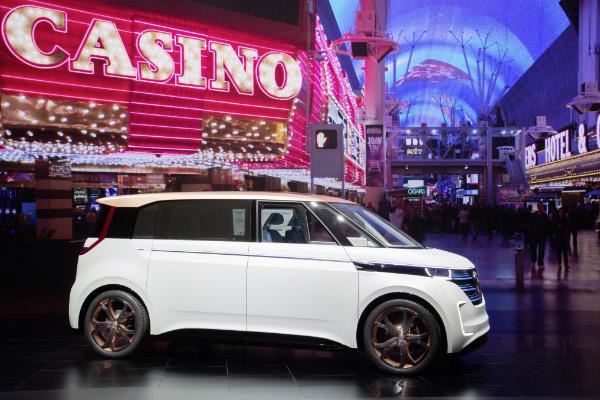 Volkswagen BUDD-e in Las Vegas