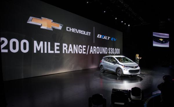 Vorstellung des Chevrolet Bolt EV