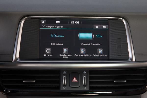 Kia Optima Plug-In-Hybrid - Touchscreen