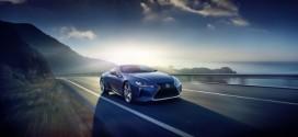 Lexus LC 500h mit Hybridantrieb wird in Genf gezeigt