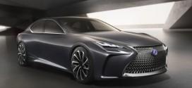 Lexus Pkw mit Brennstoffzellenantrieb auf Basis des LF-FC Concept Car kommt 2020