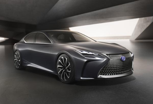 Lexus LF-FC mit Brennstoffzellenantrieb