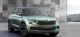 ŠKODA VisionS: SUV-Konzeptfahrzeug mit Plug-in Hybridantrieb