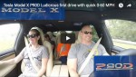 Video: Beschleunigung im Tesla Model X P90D Ludicrous
