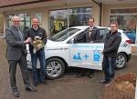 sera Unternehmensgruppe übernimmt einen Hyundai ix35 Fuel Cell