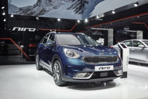 Kia Niro – kompaktes SUV mit Hybridantrieb auf dem Genfer Autosalon 2016