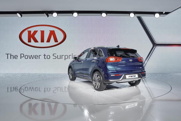 Kia Niro auf dem Genfer Autosalon