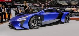 Techrules GT96 TREV Concept: Das Super-Elektroauto?