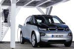 BMW i3 Elektroauto beim Laden