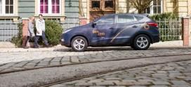 BeeZero Carsharing in München mit Hyundai ix35 Fuel Cell Brennstoffzellenautos