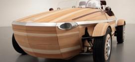 Toyota Setsuna Concept: Ein Elektroauto aus Holz