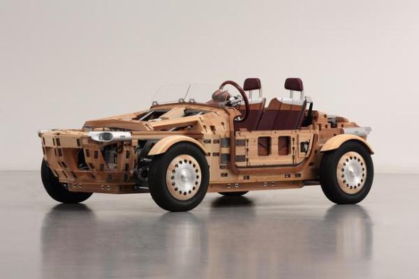 Toyota Setsuna Concept - Aufbau