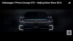 Werbespot zum Volkswagen T-Prime Concept GTE